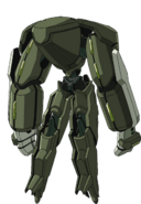 Captain Earth Wiki - Mech - Kiltgang - Type-7 - Bugbear - Back