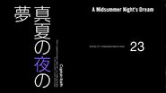 Episode 23 - A Midsummer's Nights Dream - Title Slate