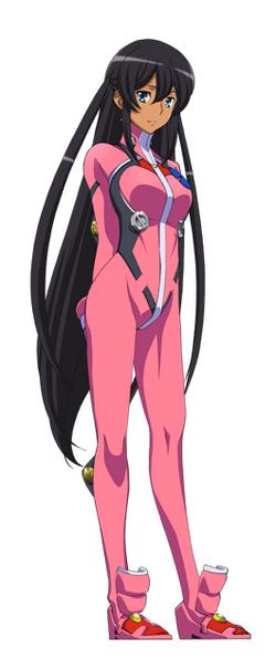 Captain Earth Wiki - Character - Hana Mutou - Flight Suit.png