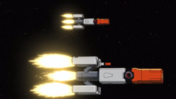 Captain Earth Wiki - Unmanned Impacter - Feige - Missile.png