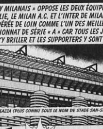 Giuseppe Meazza Stadium Captain Tsubasa Wiki Fandom