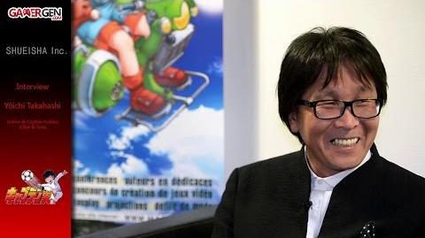 Yôichi Takahashi (Captain Subasa) Interview au MAGIC 2015