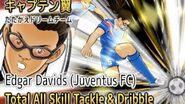 Captain Tsubasa Dream Team - Total All Skill From Edgar Davids