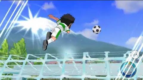 Captain Tsubasa Zero Tachibana Twins Triangle Shot ⚽️