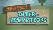 Chapter 1; Interkrupptions