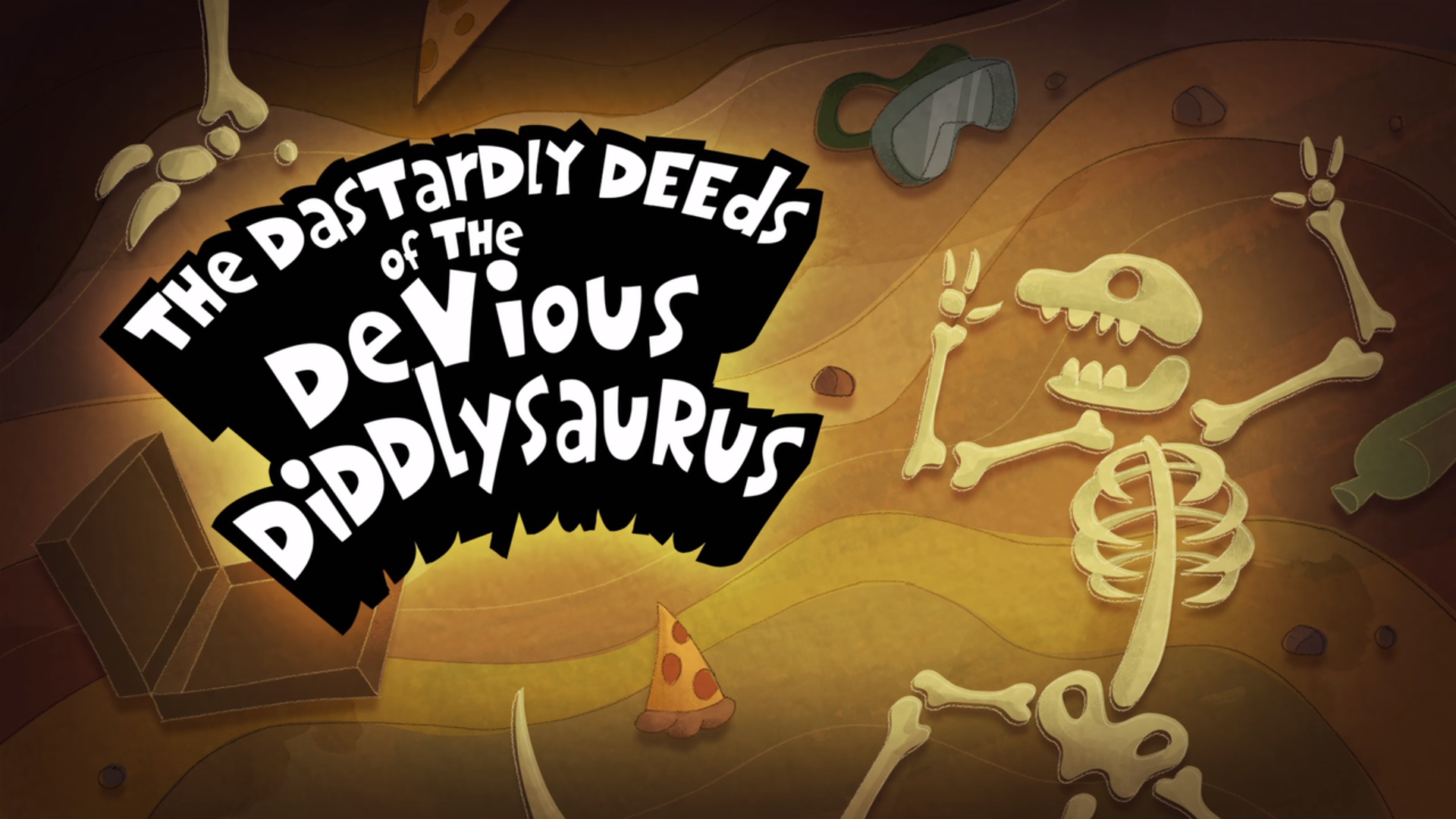 The Dastardly Deed of the Devious Diddlysaurus