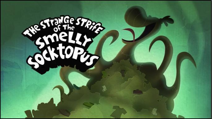 The Strange Strife of the Smelly Socktopus