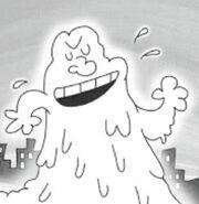 Sir stinks a lot as a blob