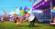 Balloon Girl and Captain Underpants