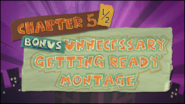 Bonus Unnecessary Getting Ready Montage