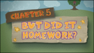 Chapter 5; But Did It Homework