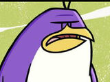Pinches the Purple Penguin