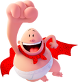 Captain underpants flying