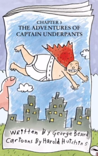 The Really Cool Adventures Of Captain Underpants Captain Underpants Wiki Fandom