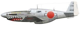 Japan, P-51C-11-NT, 44-10816, Evalina