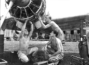 Captured RAAF A6M Morotai 1945