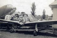 Nakajima-Ki-43-I-Oscar-Manufacture-Number-750-in-storage-with-Sid-Marshall-1960s