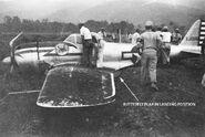 Ki-43-II hayabusa TAIU-XJ005 rebuilt 41-TCS crashd Hollandia NEI 1944-W-1 zpssbisnajt