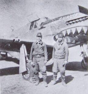 P-51 Evalina in Japan 2