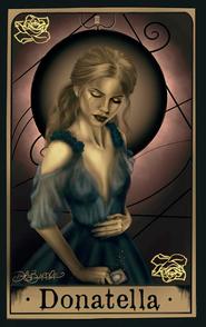 Donatella by Gina, Dark And Beautiful Art