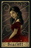 Scarlett by Gina, Dark And Beautiful Art