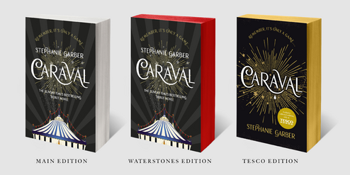 Caraval UK Editions
