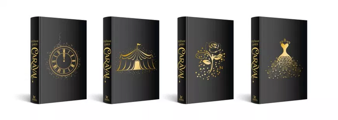 Caraval UK Editions 2