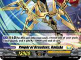 Knight of Broadaxe, Rafluke