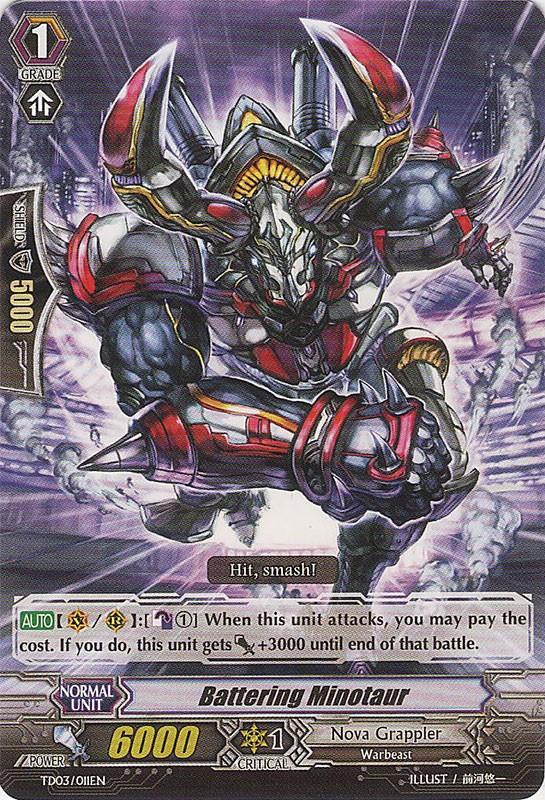 Battering Minotaur