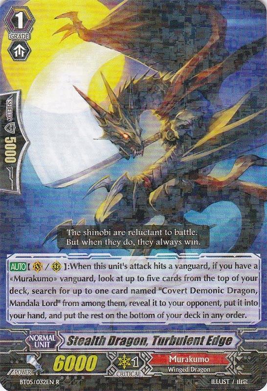 Stealth Dragon, Turbulent Edge