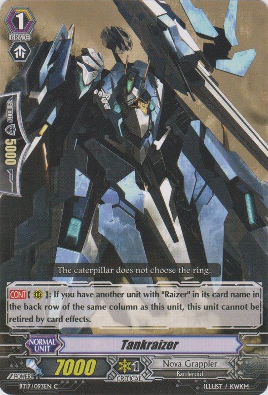 Card Errata:Tankraizer