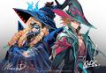 Dragwizard, Morfessa and Dragheart, Luard (Extra)