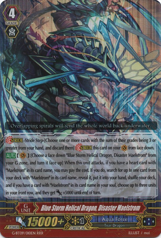 Blue Storm Helical Dragon, Disaster Maelstrom