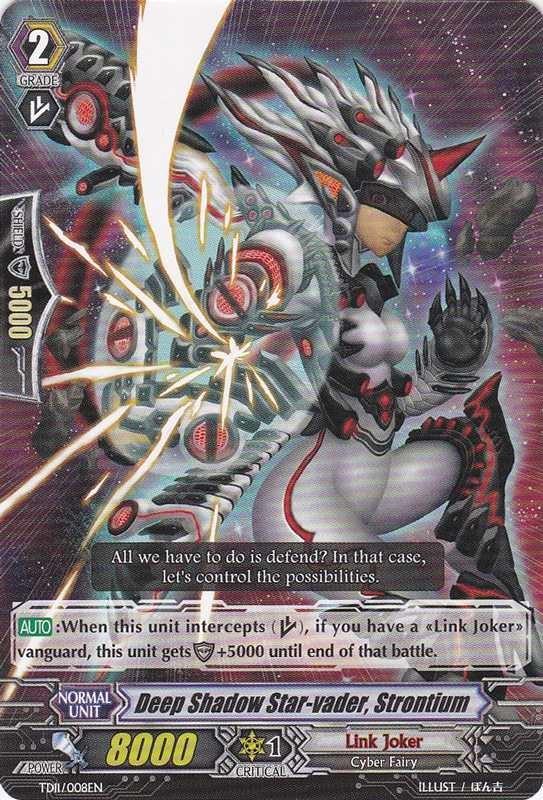Deep Shadow Star-vader, Strontium