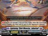 Lightning Thief Monster, Jabattail
