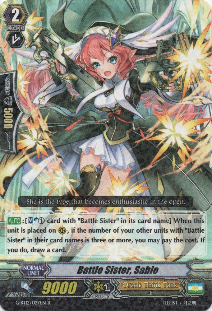 Battle Sister, Sable