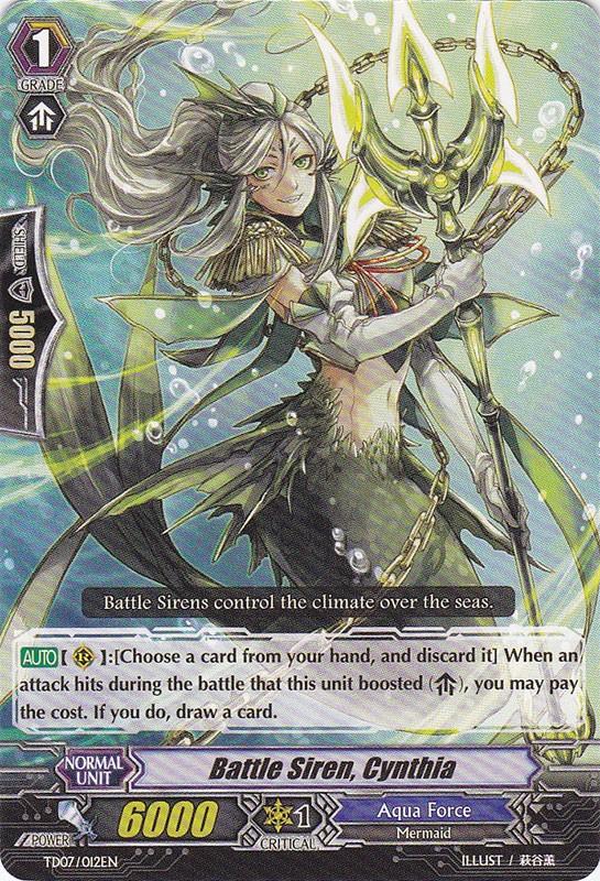 Battle Siren, Cynthia