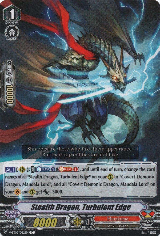 Stealth Dragon, Turbulent Edge (V Series)