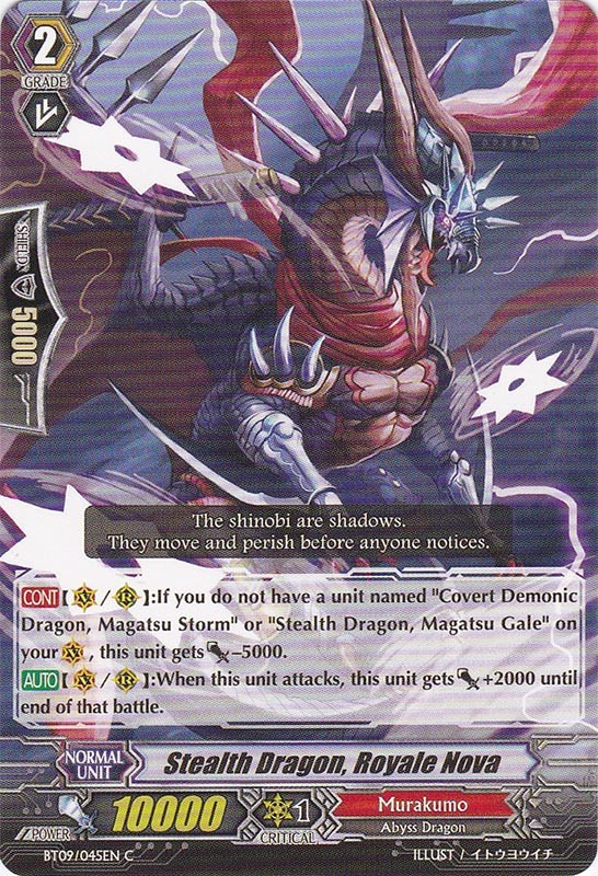 Stealth Dragon, Royale Nova