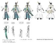Marine General of Heavenly Silk, Lambros (Design)
