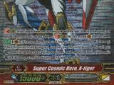Super Cosmic Hero, X-tiger