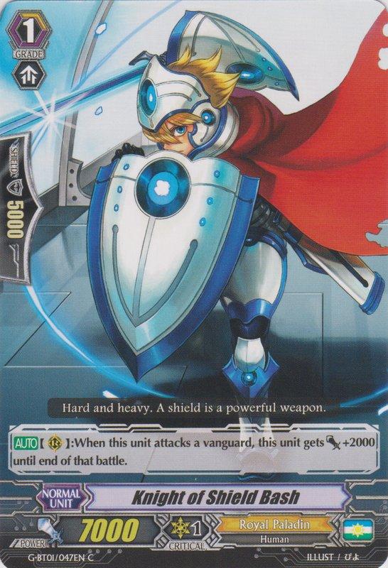 Knight of Shield Bash