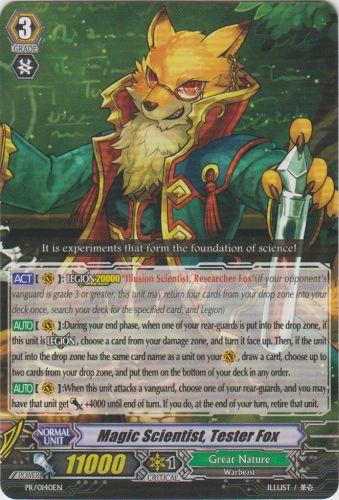 Magic Scientist, Tester Fox