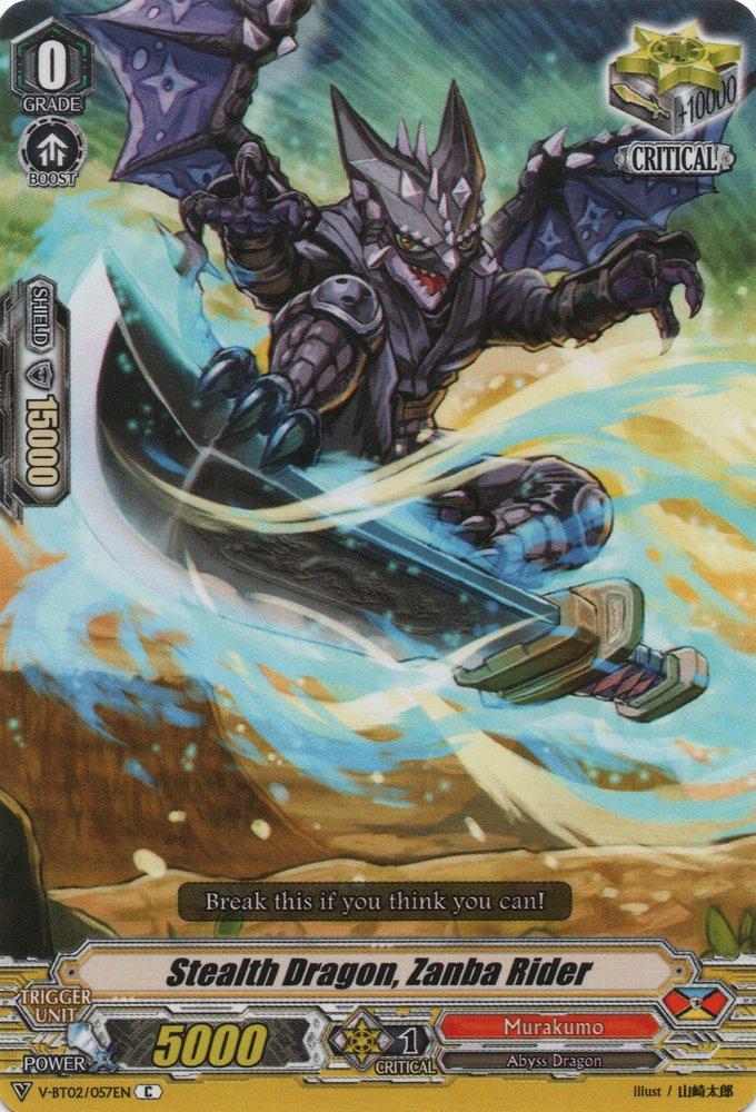 Stealth Dragon, Zanba Rider