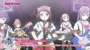 Poppin'Party 1st SingleCD「Yes! BanG Dream!」アニメMV(ショートVer