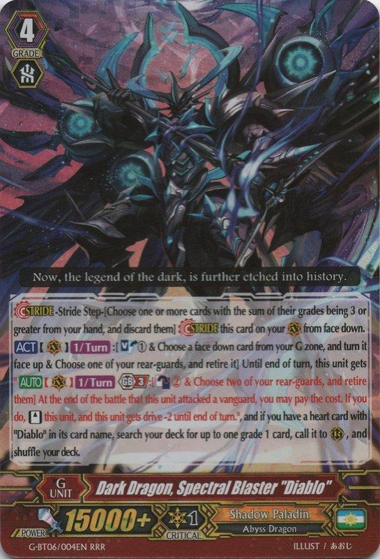 """Dark Dragon, Spectral Blaster """"Diablo"""""""