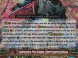 Supremacy True Dragon, Claret Sword Helheim