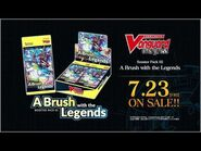 CARDFIGHT!! VANGUARD overDress Booster Pack 02- A Brush with the Legends