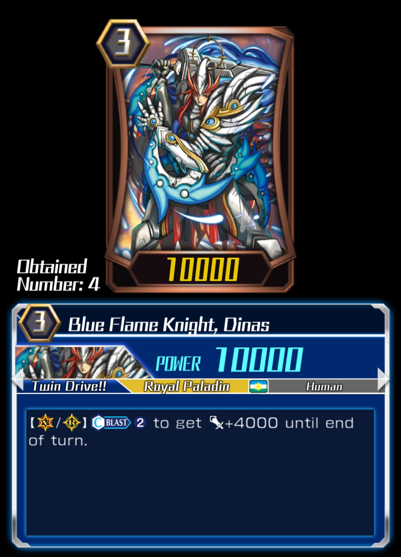 Blue Flame Knight, Dinas (ZERO)