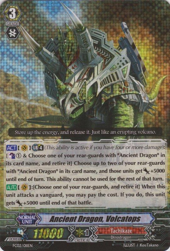 Ancient Dragon, Volcatops